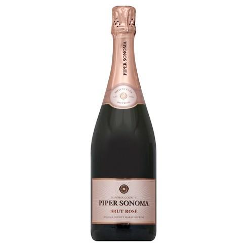 Piper Sonoma Brut Rose Sparkling Rose Wine - 750ml Bottle - image 1 of 1
