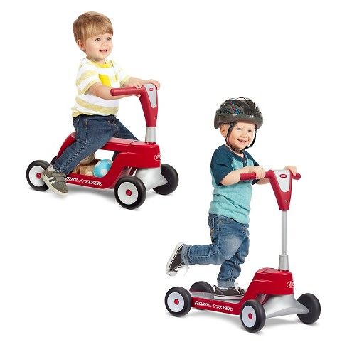 Radio Flyer Scoot 2 Scooter Red Target