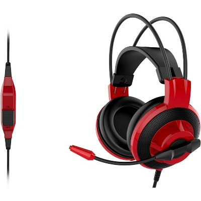 MSI DS501 Gaming Headset, Red / Black