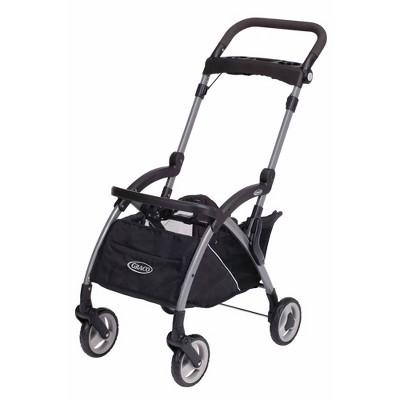 Graco SnugRider Elite Infant Car Seat Frame Stroller - Black