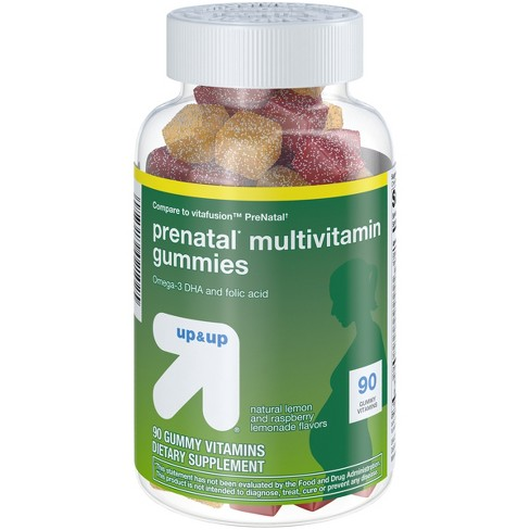 Prenatal Multivitamin Gummies - Fruit Flavors - 90ct - up & up™ - image 1 of 3