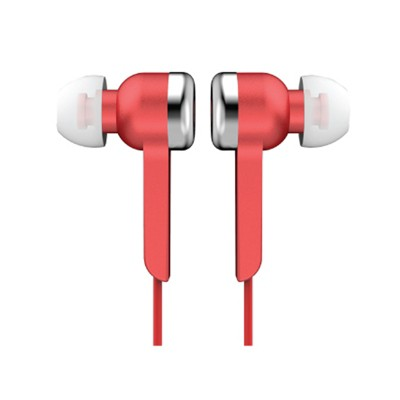 Supersonic Digital Stereo Earphones in Red