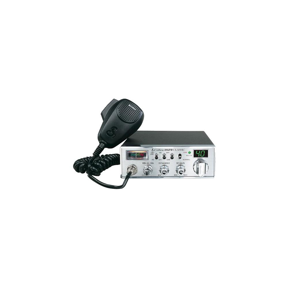 Cobra 40 Channel CB Radio - 25-Ltd Cobra 40 Channel CB Radio - 25-Ltd