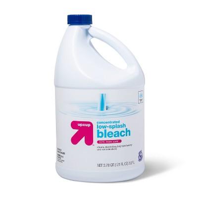 Low Splash Regular Bleach - 121oz - up & up™