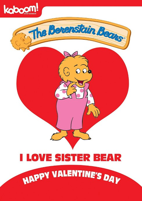 Berenstain bears:I love sister bear (DVD) - image 1 of 1