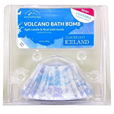 Village Naturals Volcano Lightable Bath Bomb - 4.9oz
