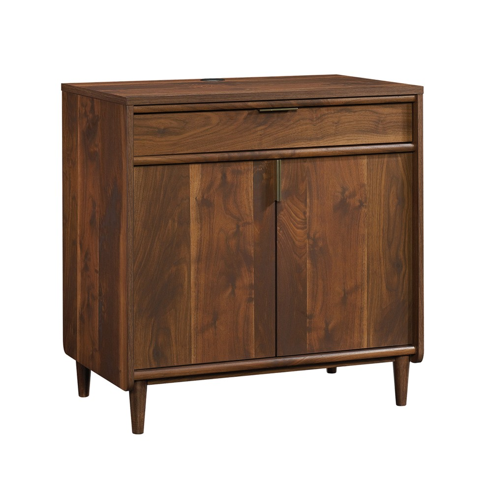 "Image of ""30.276"""" Clifford Place Library Base Walnut - Sauder, Brown"""