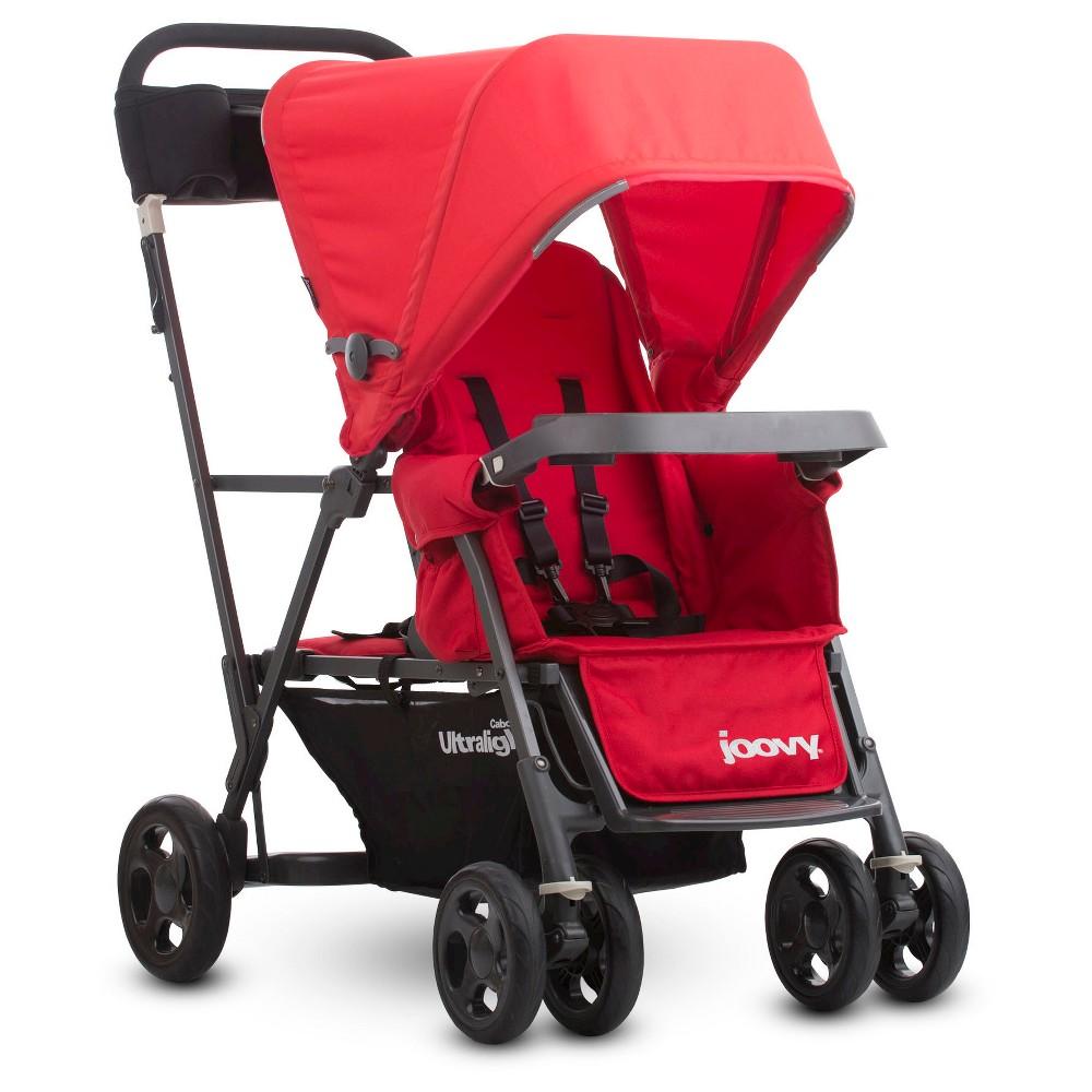 Joovy Caboose Ultralight Graphite Stroller Red