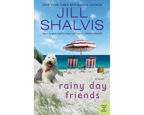 Rainy Day Friends -  (Wildstone) by Jill Shalvis (Paperback) - image 1 of 1