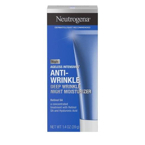 Neutrogena Ageless Intensives Hyaluronic Acid Wrinkle Cream Hyaluronic - 1.4oz - image 1 of 4