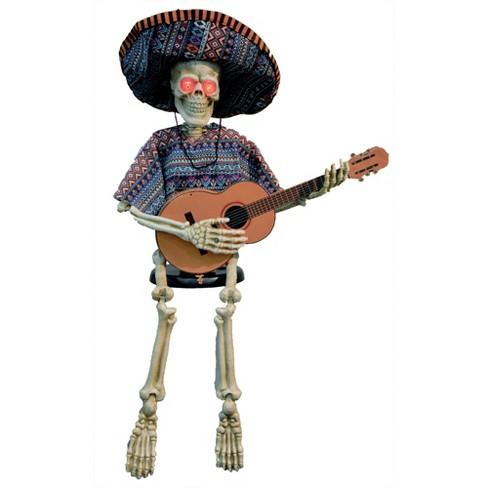 """40"""" Halloween Skeleton Playing Guitar - image 1 of 1"""