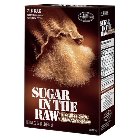 Sugar In The Raw Natural Cane Turbinado Sugar - 32oz - image 1 of 4