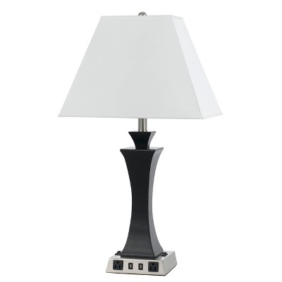 60W X 2 Metal Night Stand Lamp (Lamp Only) - Cal Lighting