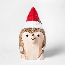 Lit Christmas Tinsel Hedgehog Novelty Sculpture - Wondershop™