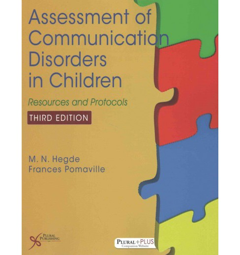 Assessment of Communication Disorders in Children : Resources and Protocols (Paperback) (Ph.D. M. N. - image 1 of 1