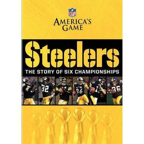 Nfl America's Game: Pittsburgh Steelers, The Story Of Six Championships (DVD) - image 1 of 1