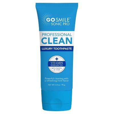 GO SMiLE Luxury Mint with Vitamins A C & E Toothpaste  - 3.4oz