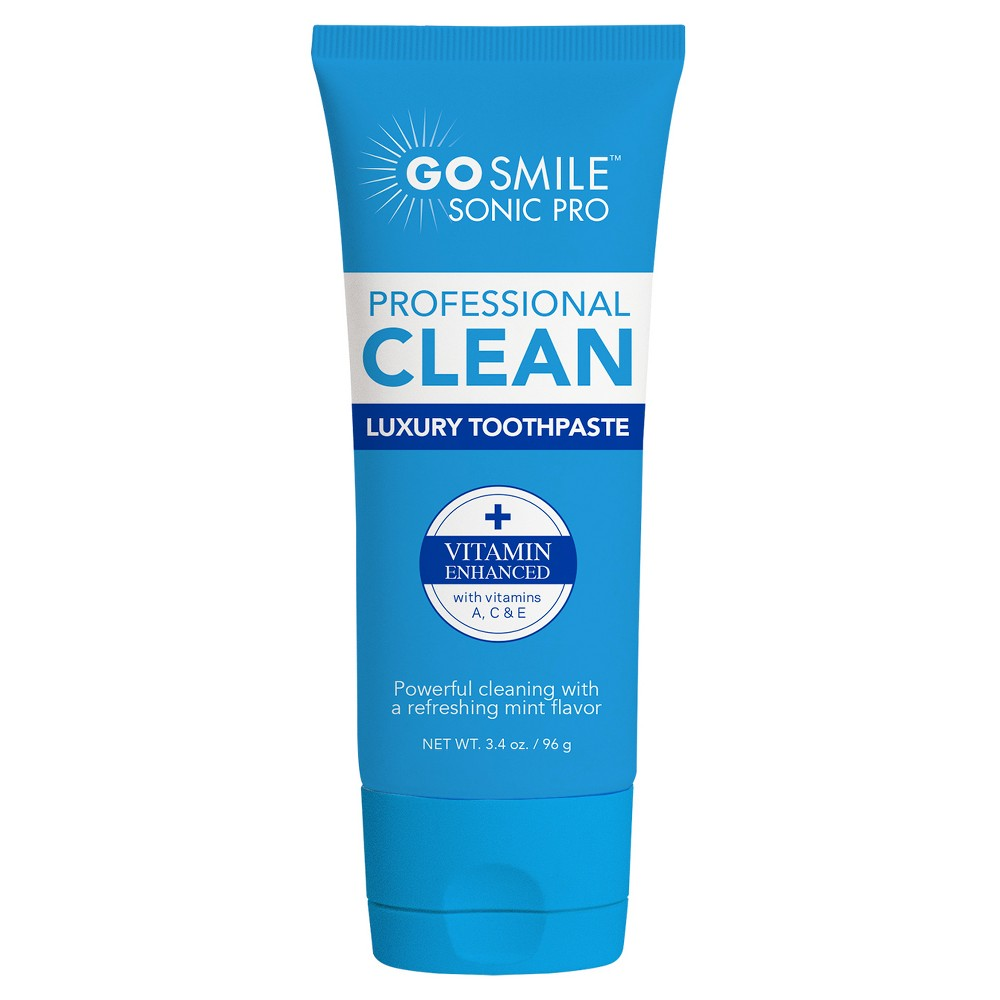 Image of GO SMiLE Luxury Mint with Vitamins A C & E Toothpaste - 3.4oz