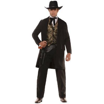 Adult Gambler Halloween Costume XXL
