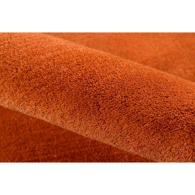 5'x8' Shapes Area Rug Paprika, Red