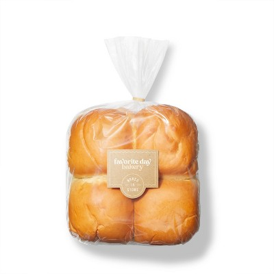 White Hamburger Buns - 17oz/8ct - Favorite Day™