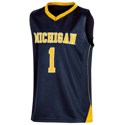 NCAA Michigan Wolverines Boys' Basketball Jersey