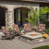 Clarissa Tropical Adirondack Chair Cushion Ruby - Arden Selections - image 3 of 3