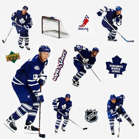 Upper Deck 11pc Nhl Wall Sticker Set Toronto Maple Leafs Target