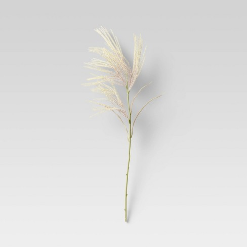 """28"""" Artificial Fluffy Grass Stem - Threshold™ - image 1 of 3"""