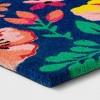 """1'6""""x2'6"""" Floral Coir Doormat Blue - Sun Squad™ - image 2 of 3"""