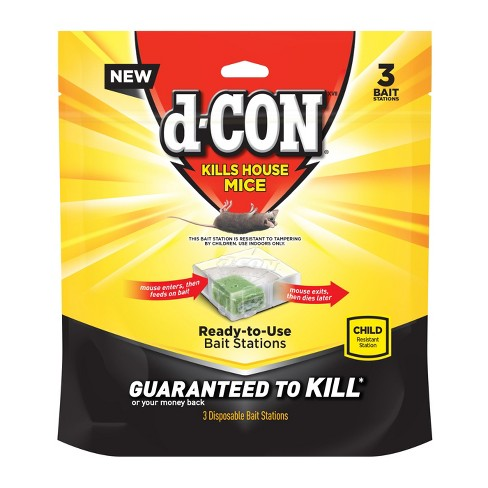 d-CON Bait Station Corner Fit Disposable 3ct - image 1 of 5