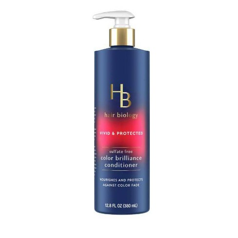 Hair Biology Color Brilliance Conditioner with Biotin Vivid & Protected for Gray or Color Treated Hair - 12.8 fl oz. - image 1 of 4