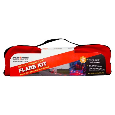 Orion 6ct 30 Minute Flare Emergency Kit