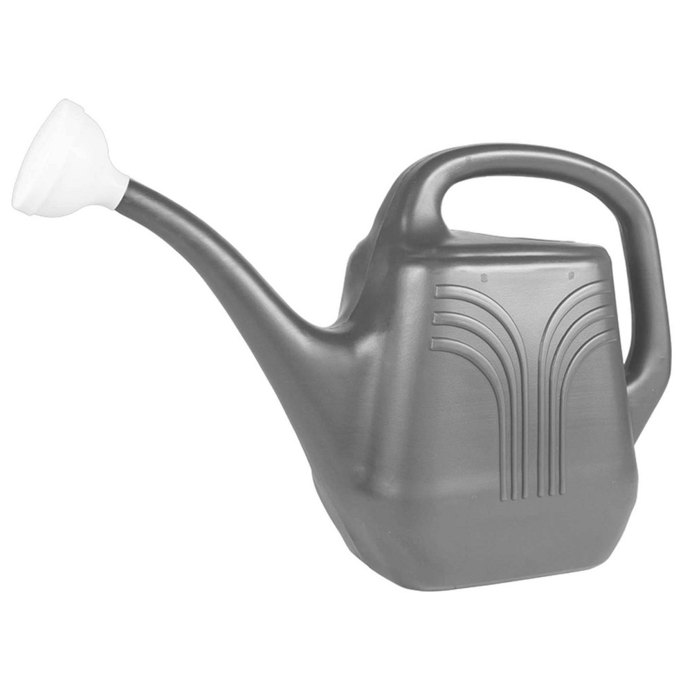 Image of 2gal Classic Watering Can Charcoal - Bloem