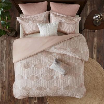 3pc Ellipse Cotton Jacquard Comforter Set