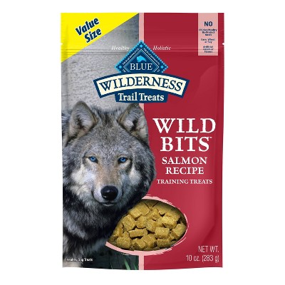 Blue Buffalo Wilderness 100% Grain-Free Wild Bits Salmon Recipe Dog Treats