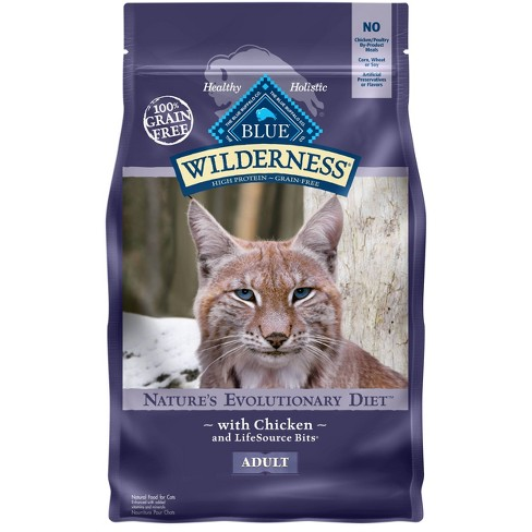Blue Buffalo Wilderness Grain Free With Chicken Adult Premium Dry Cat Food - image 1 of 4