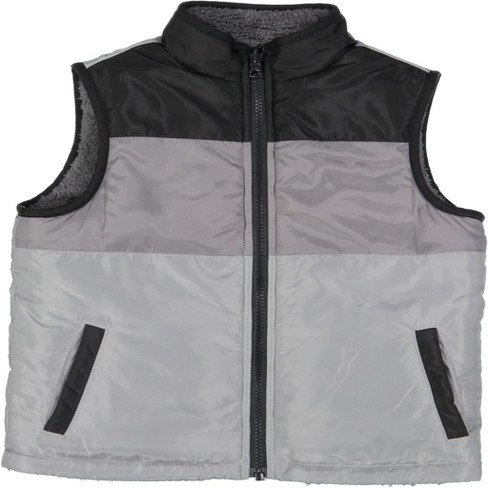 Andy & Evan  Toddler Reversible Puffer Vest - image 1 of 4