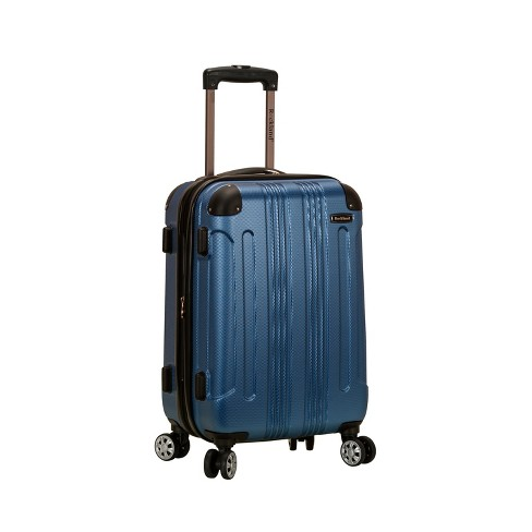 "Rockland Sonic 20"" Expandable Hardside Carry On Suitcase - Blue - image 1 of 4"