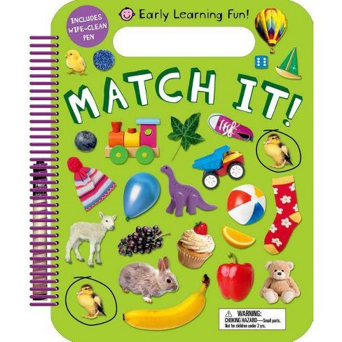 Match It -  (Wipe-Clean) by Emma Jennings & Natalie Munday & Amy Oliver (Paperback) - image 1 of 1