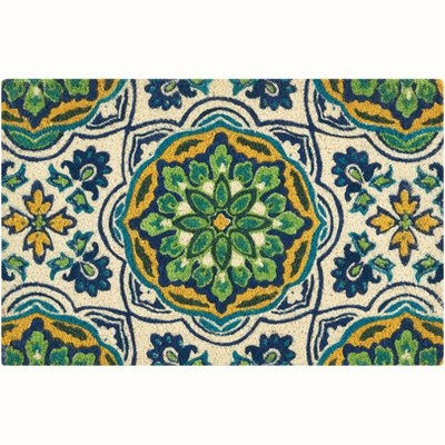 """Waverly Greetings """"Tapestry"""" Bluebell Doormat"""