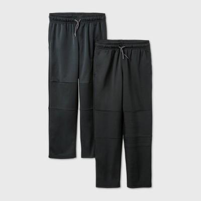 Boys' 2pk Activewear Pants - Cat & Jack™ Black
