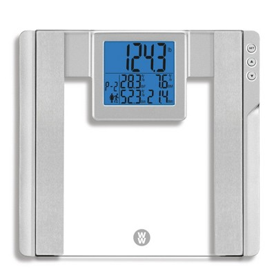 Glass Body Analysis Scale Clear - Weight Watchers