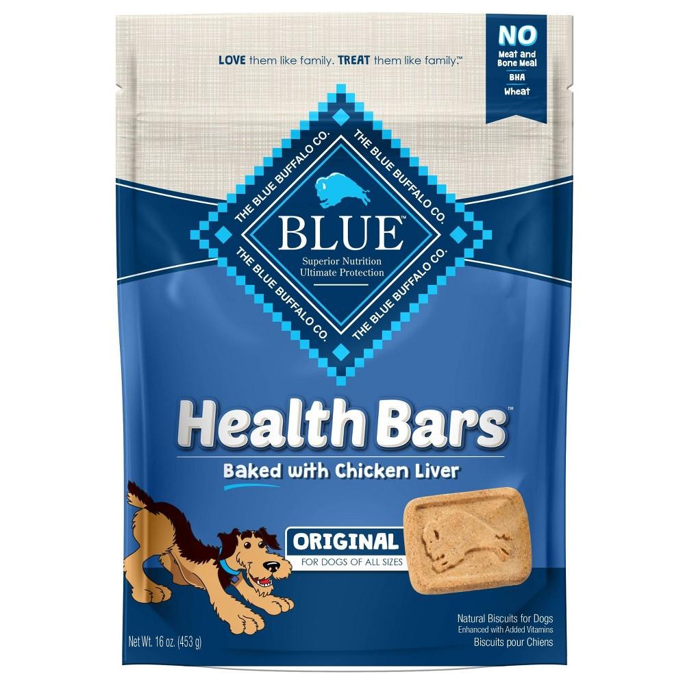 Blue Buffalo Health Bar Chicken Liver Dog Treats 16oz