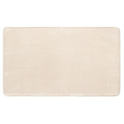 Memory Foam Bath Mat - Light Brown - 20 x34  - Mohawk Home