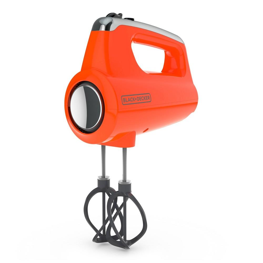 Image of Black+decker Helix Hand Mixer - Orange MX600TR