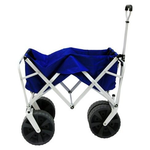 Mac Sports All Terrain Collapsible Wagon - Blue   Target c1e3d3e30