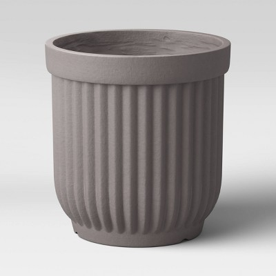 Resin Planter Gray - Threshold™