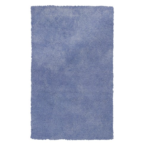 Bliss Purple Shag Woven Rug - KAS - image 1 of 2