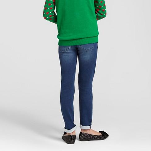 41d1e6ced1b Girls  Super Skinny Jeans - Cat   Jack™ Dark Wash   Target